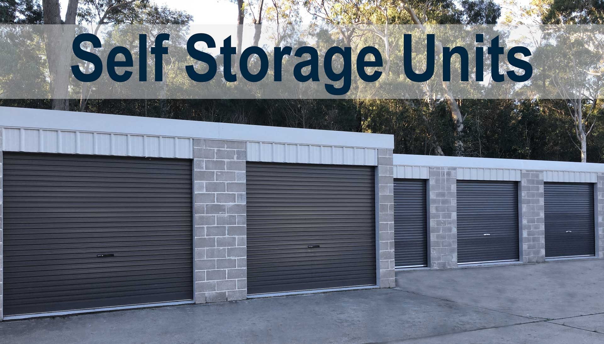 Do You Need Self Storage Units To Store All Your Prized Possessions Or Even  To Unclutter Your Garage? Bay And Basin Storage Have Individual  Self Lockable ...