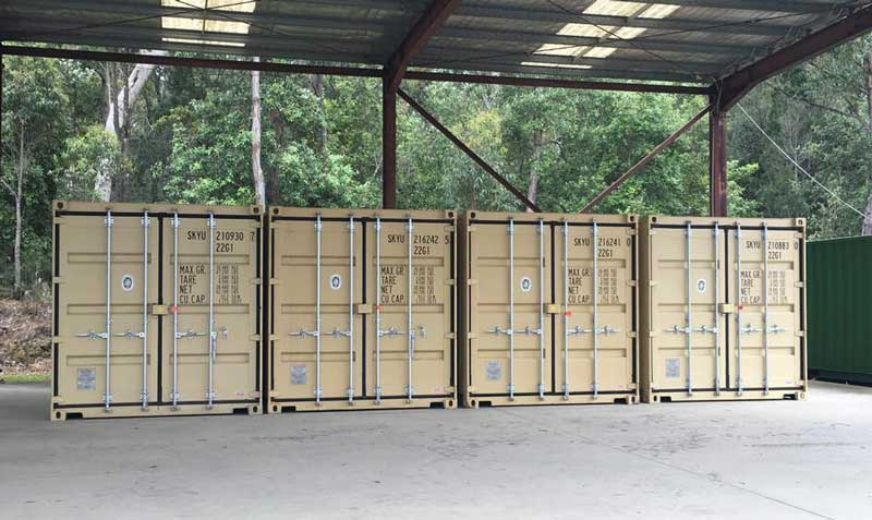 Bay and Basin Storage Container Storage