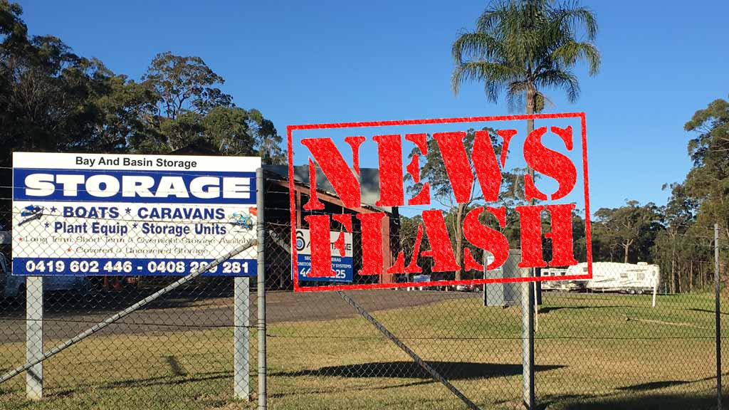 Bay and Basin Storage Newsflash March 2017